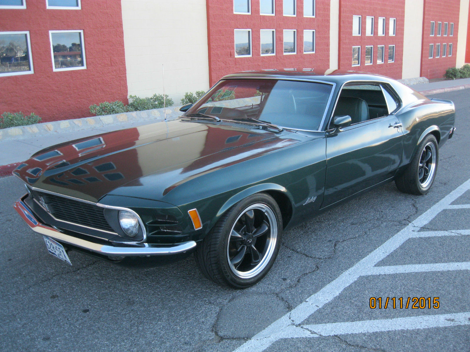 1970 mustang fastback california custom high performance 302 bullit