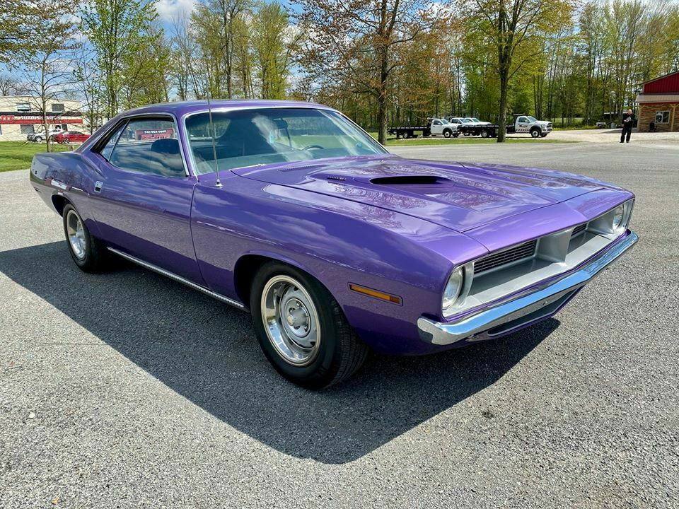 1970 Plymouth Cuda 383 4 Speed