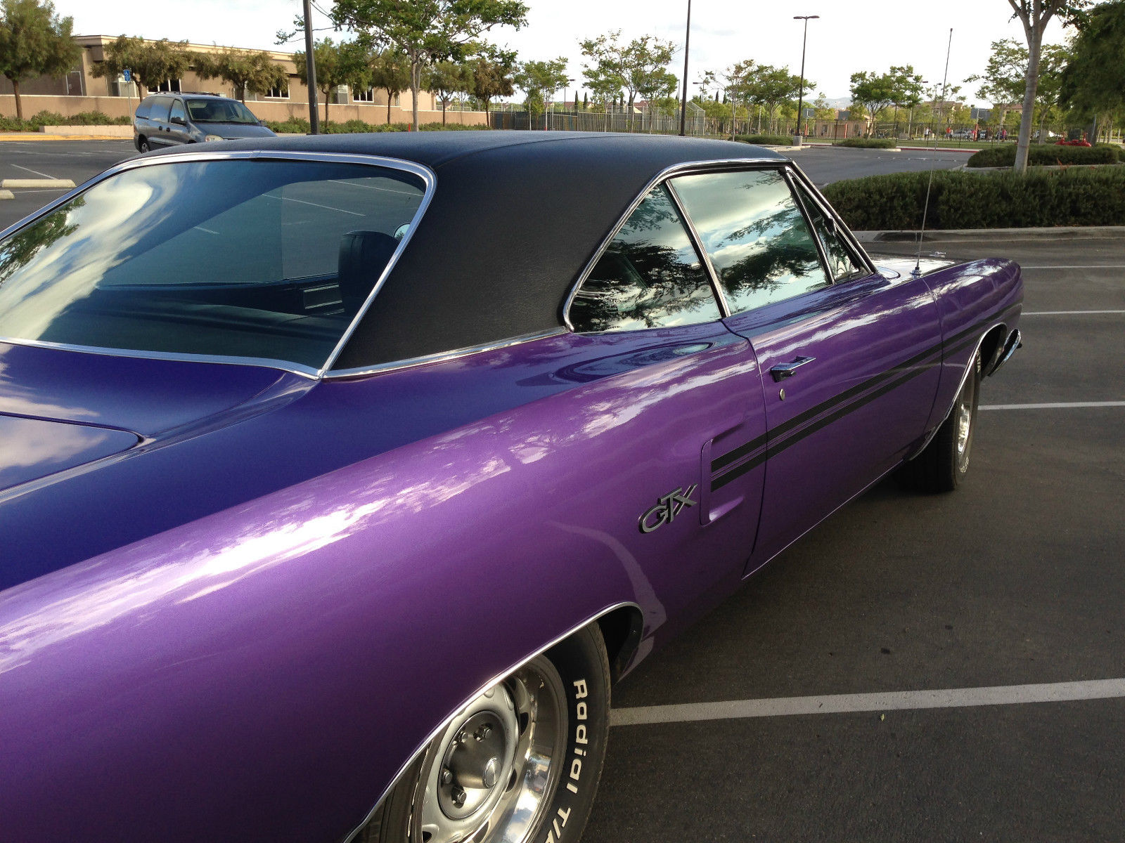 1970 Plymouth Gtx Great Condition 9 10 Purple With Black