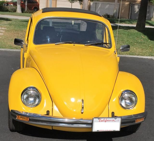 Vw 1600 Beetle For Sale: 1970 Volkswagen Awesome VW Cal Bug
