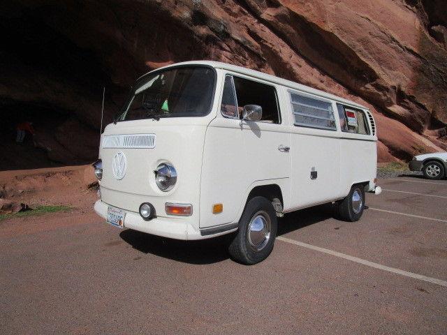 1970 Volkswagon Westfalia Weekender Camper Bus 96K Original miles