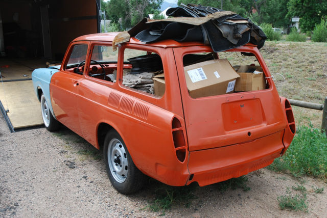 1970 Vw Type 3 Squareback Project With  5000 In Parts