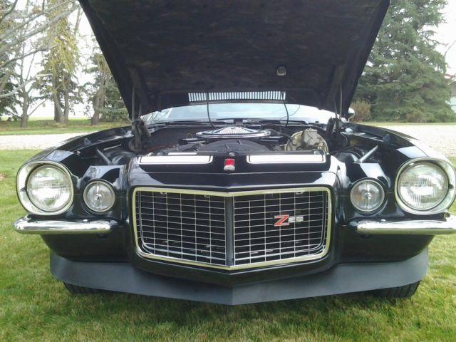 1970 Z28 Camaro Black On Black For Sale In Lethbridge