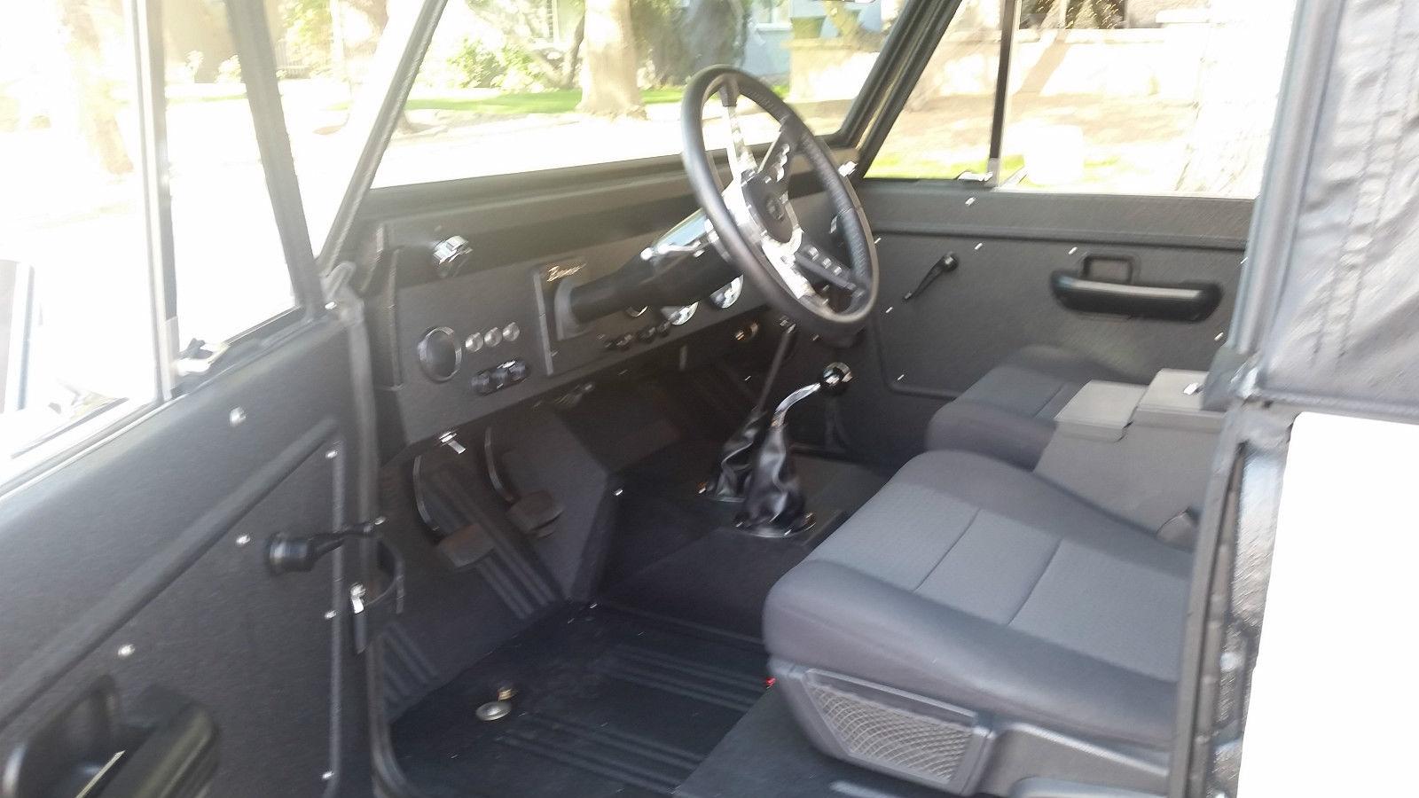 1971 71 Early Ford Bronco Frame Off Restoration Custom Hot Rod V8 3 Interior Speed
