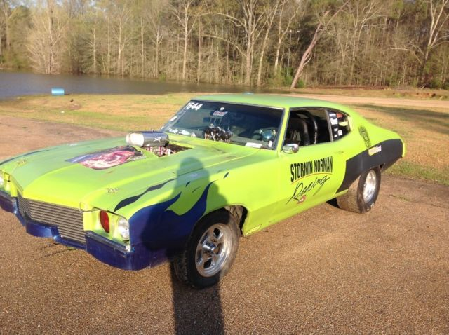 1971 Buick Muscle Car Rat Rod Pro Street Drag