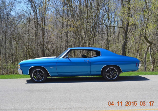 1971 CHEVELLE SS 350 ORIG ENGINE NEW SS DASH ALL NEW WITH SHOW
