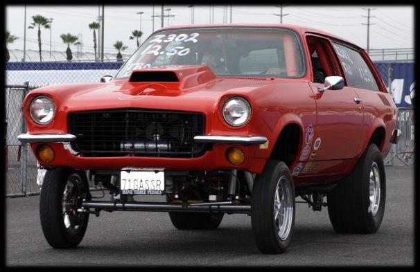 1971 Chevy Vega Wagon Chevy Vega Gasser Drag Racing