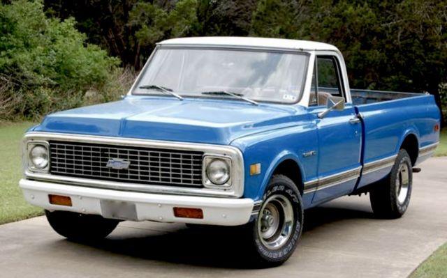 1971 classic chevrolet c10 pick up truck. Black Bedroom Furniture Sets. Home Design Ideas