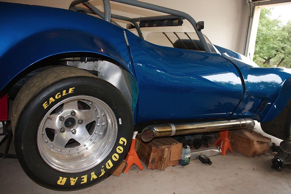 Corvette vintage race car