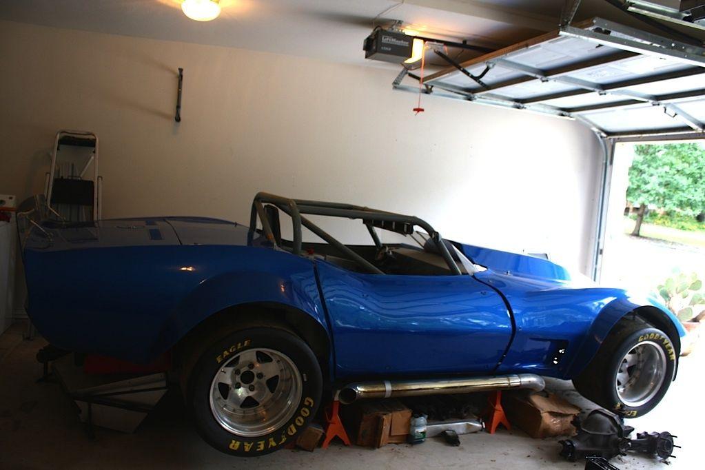 1971 corvette vintage race car