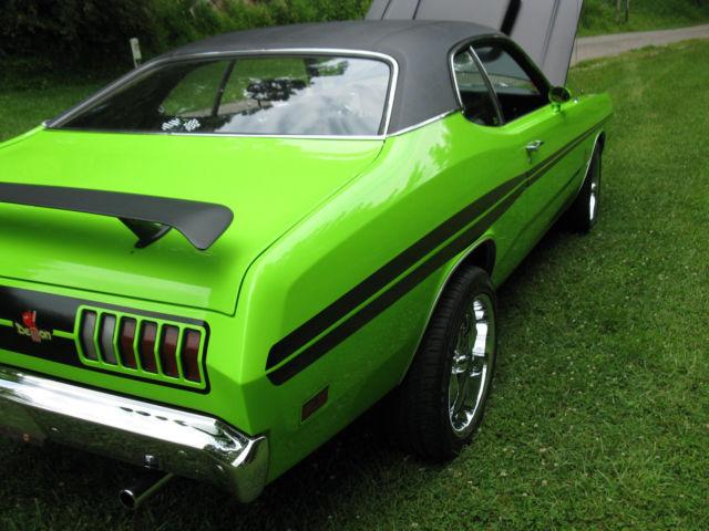 1971 dodge demon hot rod show car other. Black Bedroom Furniture Sets. Home Design Ideas
