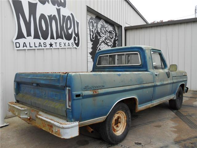 1971 Ford F 100 SWB V8 Project offered by Gas Monkey ...