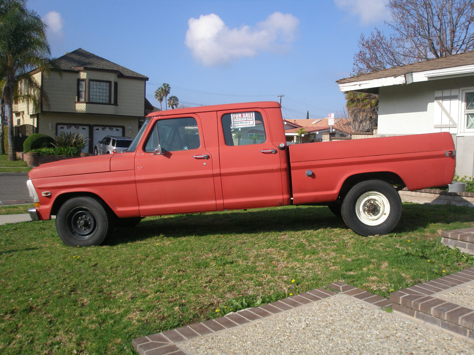 1971 Ford F 250 4 Door Crew Cab 390 F250 For Sale In Torrance 4x4 Highboy California United States