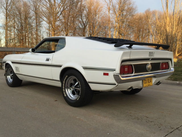 Used Cars Cleveland Ohio >> 1971 FORD MUSTANG MACH 1 351 Cleveland 2 DOOR SportsRoof