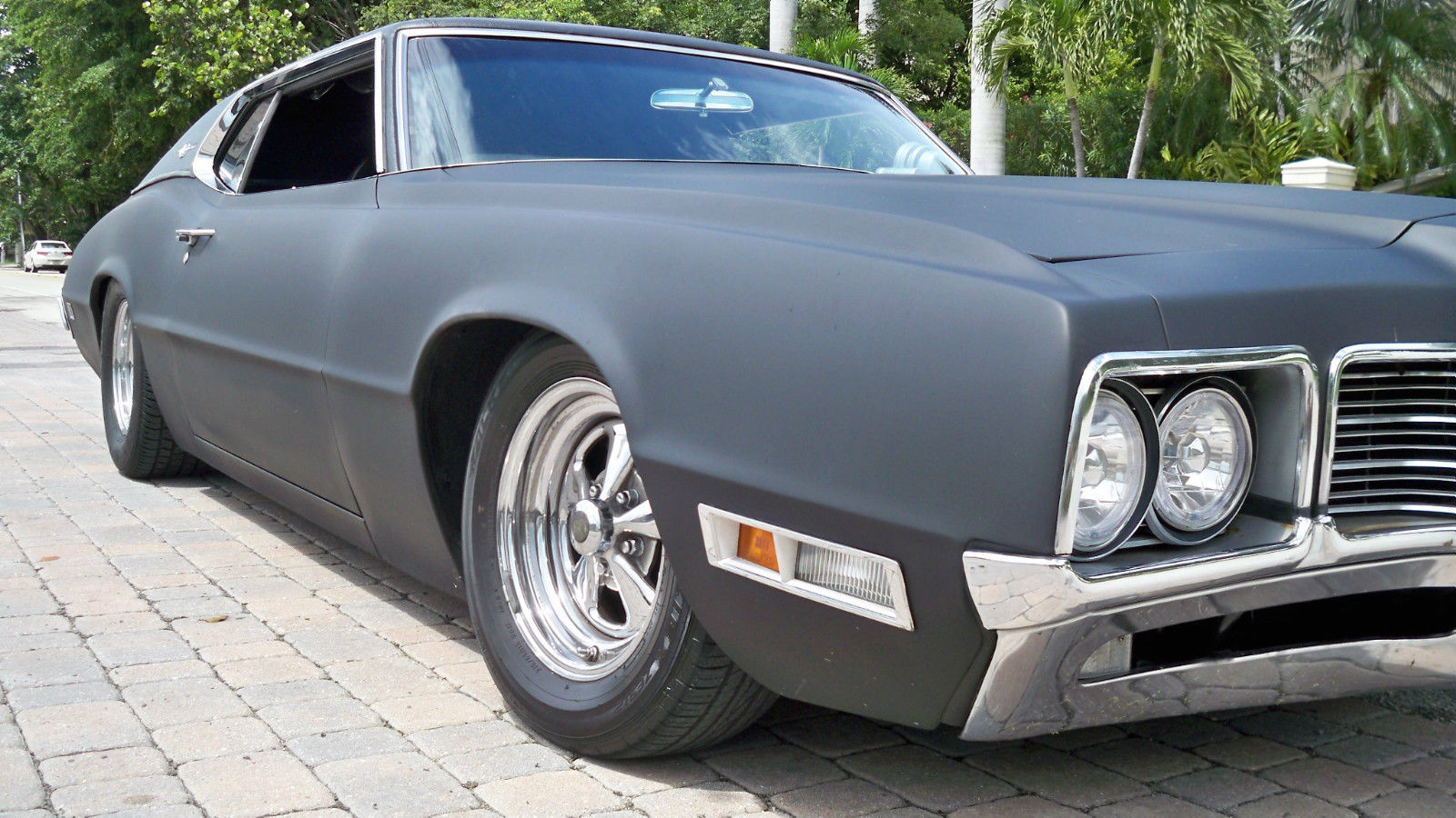 1971 Ford Thunderbird 2 Door Fastback Hot Rod Muscle Car Rat Rod