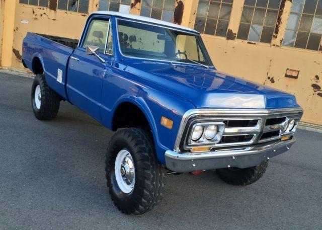 1971 GMC K2500 4x4, Original California Rust Free Truck No ...