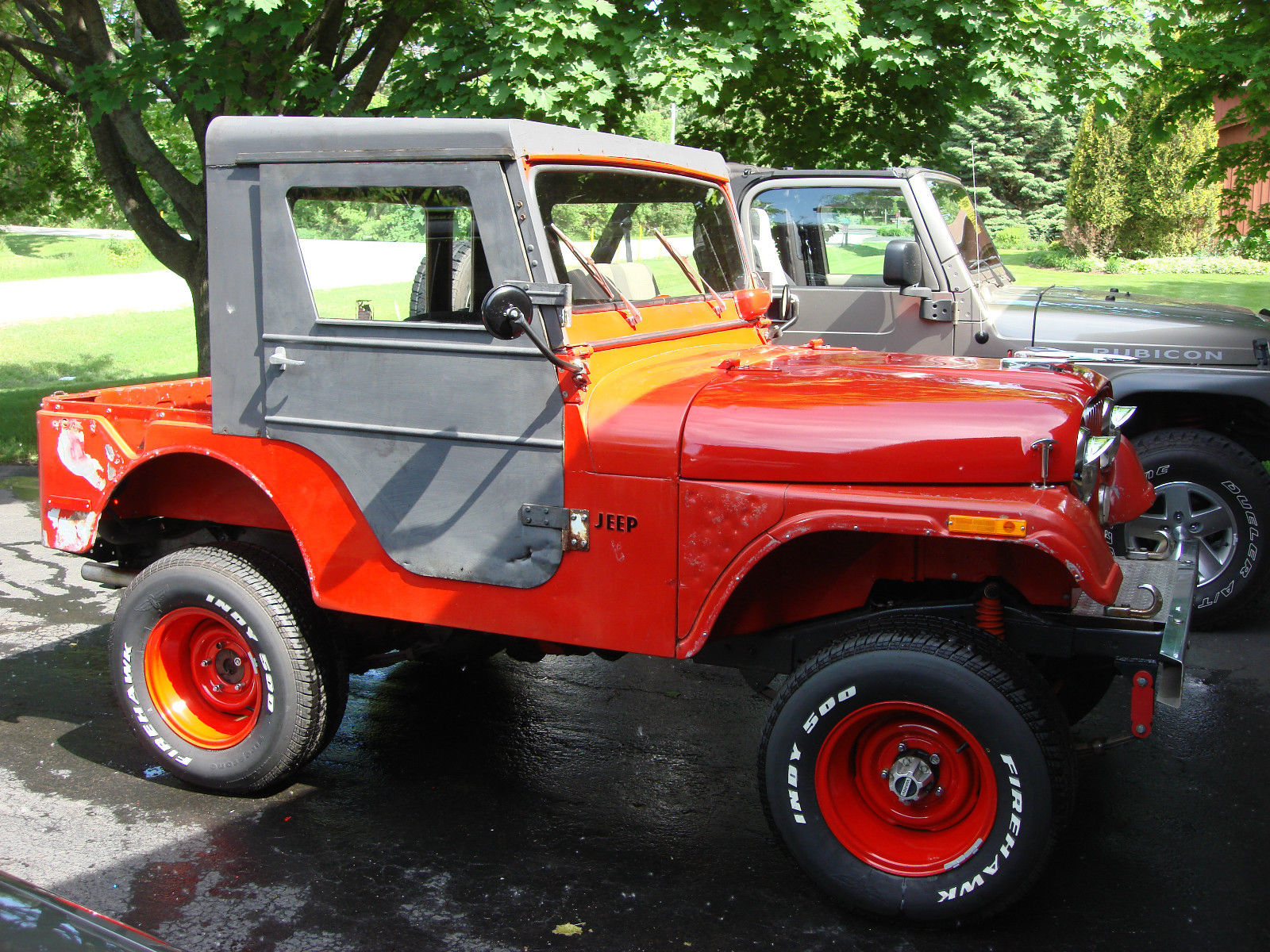 Illinois Car Title Transfer >> 1971 Jeep CJ5 Hotrod Ratrod 302V8 Auto 4x4 with factory ...