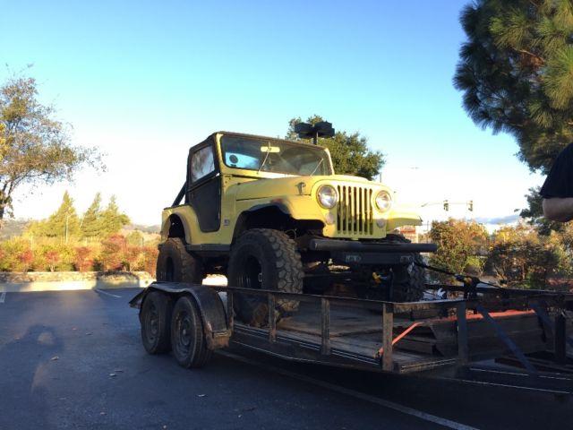 Jeep Cj Lifted Super Swampers Cu Inv Spd Wgranny Low