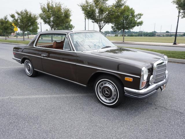 1971 mercedes benz 250 c coupe no reserve 103 425 future for Mercedes benz of lancaster