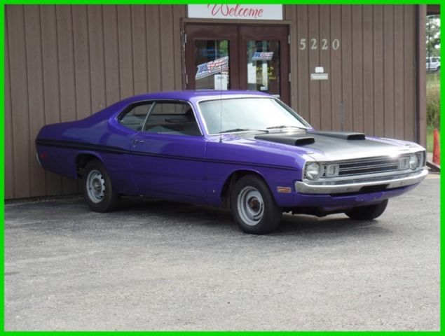 1972 Plymouth Duster Classic Muscle Car For Sale In Mi: 1971 PLUM CRAZY PURPLE 1971 Plymouth DUSTER 1970 1972 1973