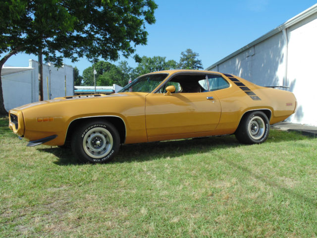 road runner 1971 muscle - photo #10