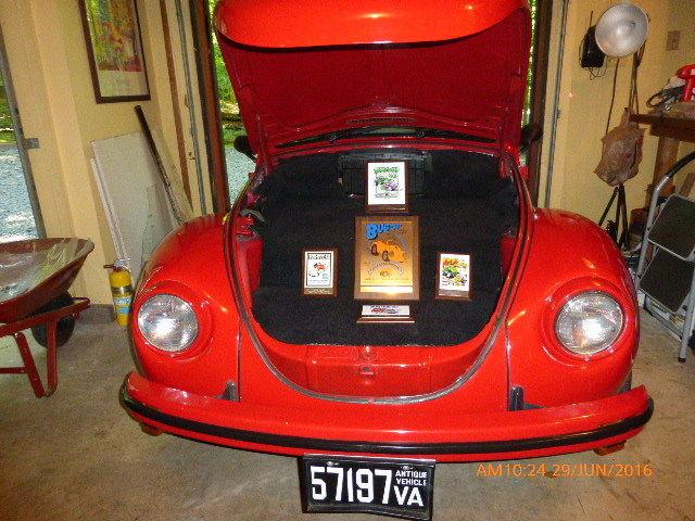 1971 Vw Super Beetle Cal Look Restoration Red