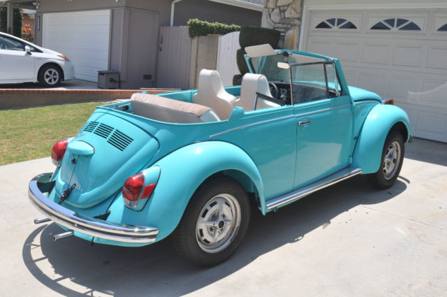 Por15 Where To Buy >> 1971 VW Super Beetle Convertible - Classic Frame-off ...