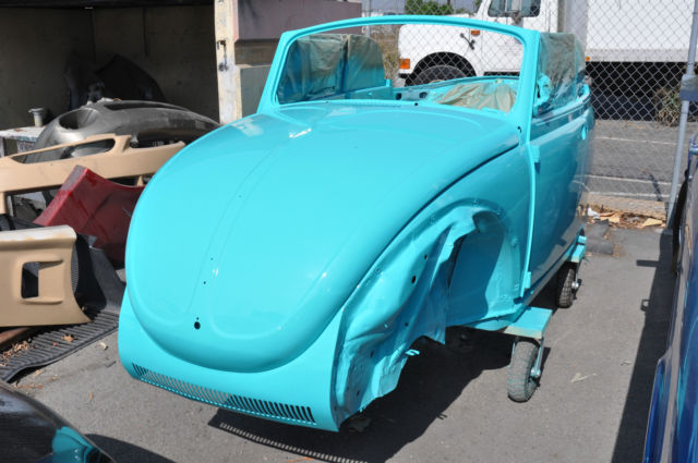 vw super beetle convertible classic frame  restoration