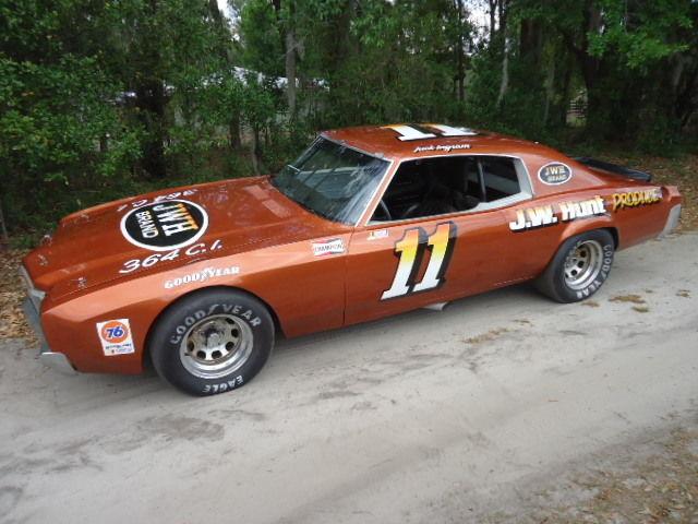1972 3 TIME WINNER ACTUAL/RESTORED JACK INGRAM'S RACE CAR