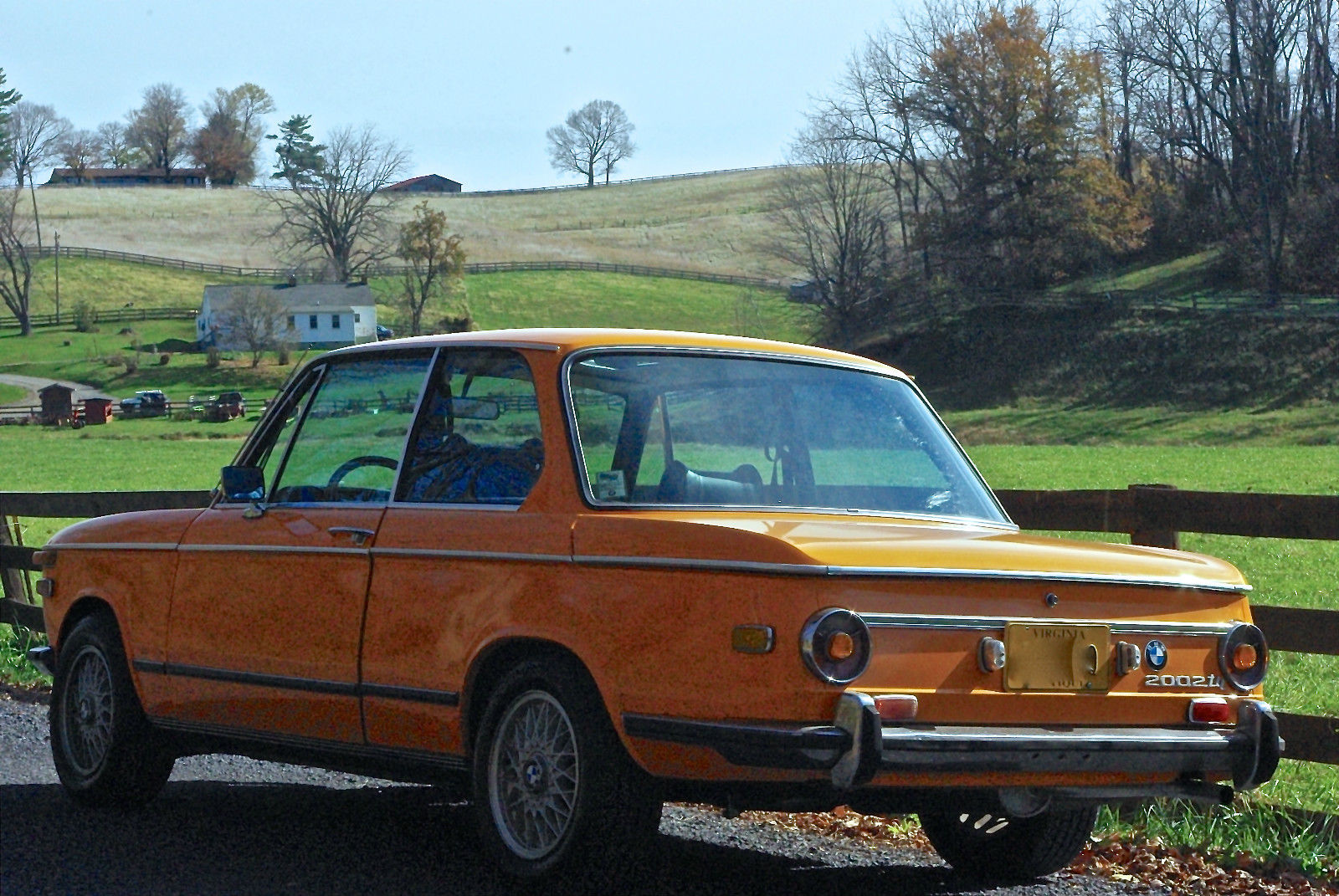 1972 Bmw 2002tii Colorado Orange In Great Condition