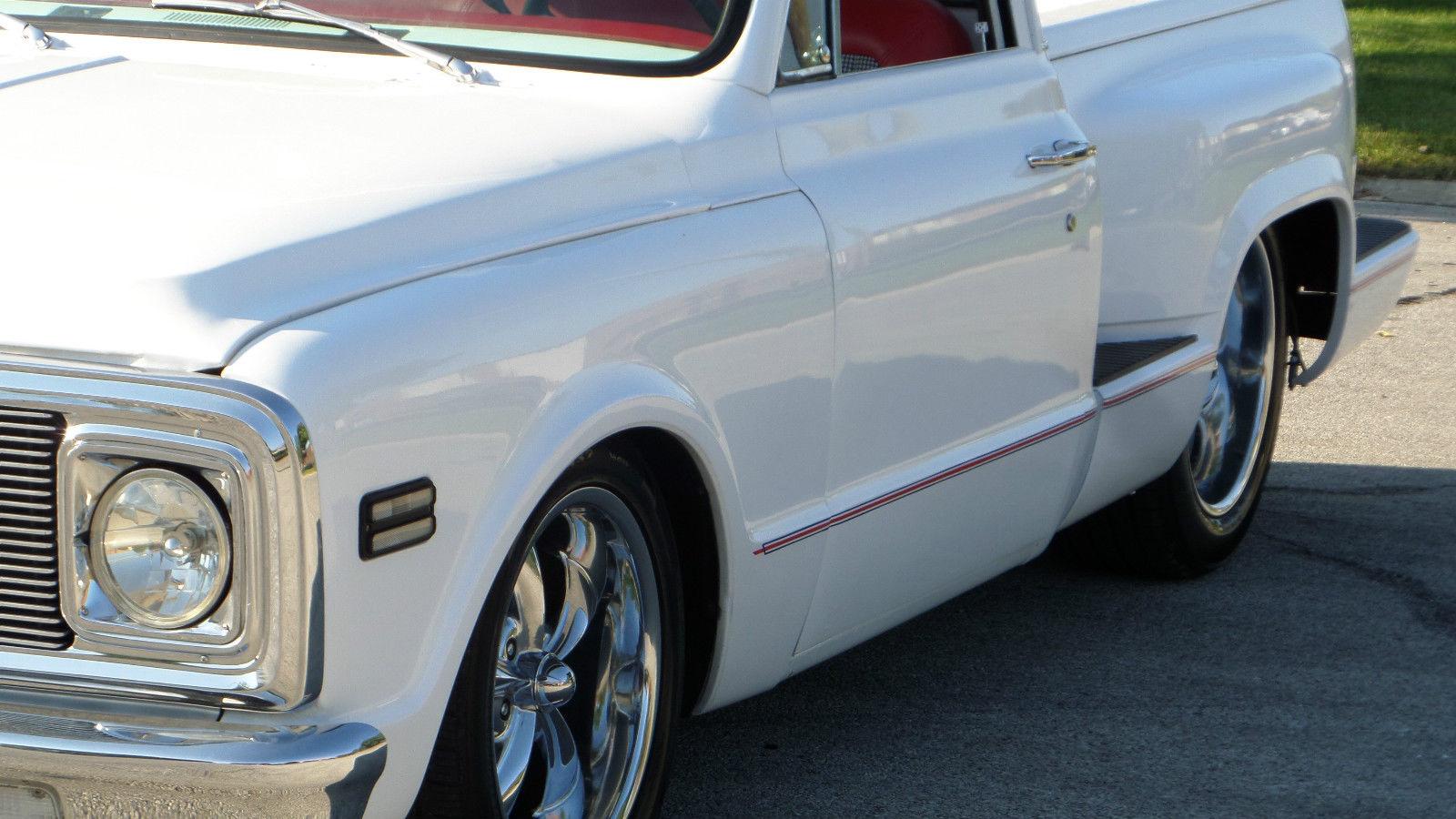 1972 Chevrolet C10 Custom Stepside Shortbed 66 67 68 69 70 71 Ready 1966 Chevy Cheyenne Super 4x4 For Shows