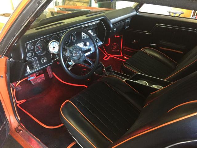 1972 chevrolet chevelle super sport ss 383 stroker motor custom interior auto. Black Bedroom Furniture Sets. Home Design Ideas