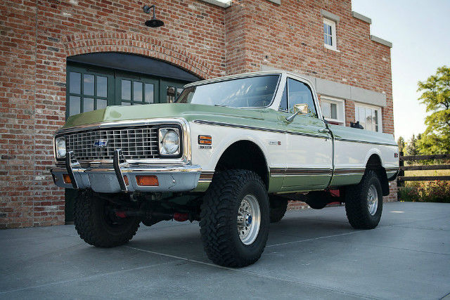 72 Chevy Truck For Sale >> 1972 Chevrolet Cheyenne -- Beautiful K20 Truck 350 Automatic