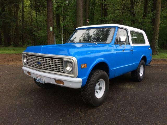 1972 Chevrolet K5 Blazer 4x4 Ps Pb 1969 1970 1971