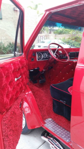 1972 Chevy Custom Shorty Van G20 Street Van Hot Rod Cherry ...