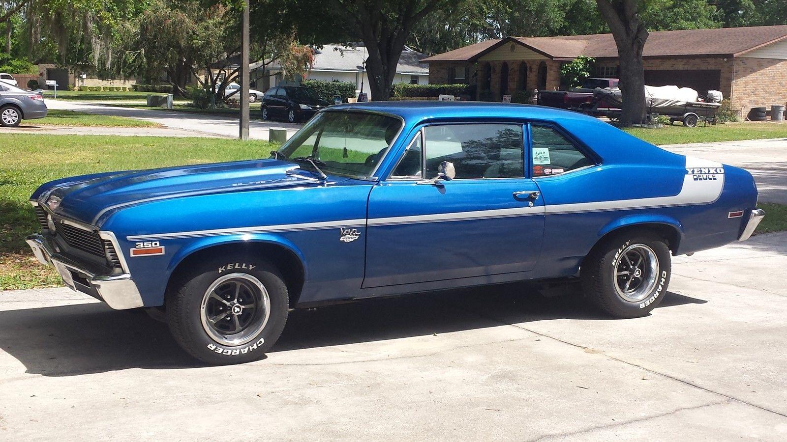 1972 Chevy Nova Yenko Deuce Tribute