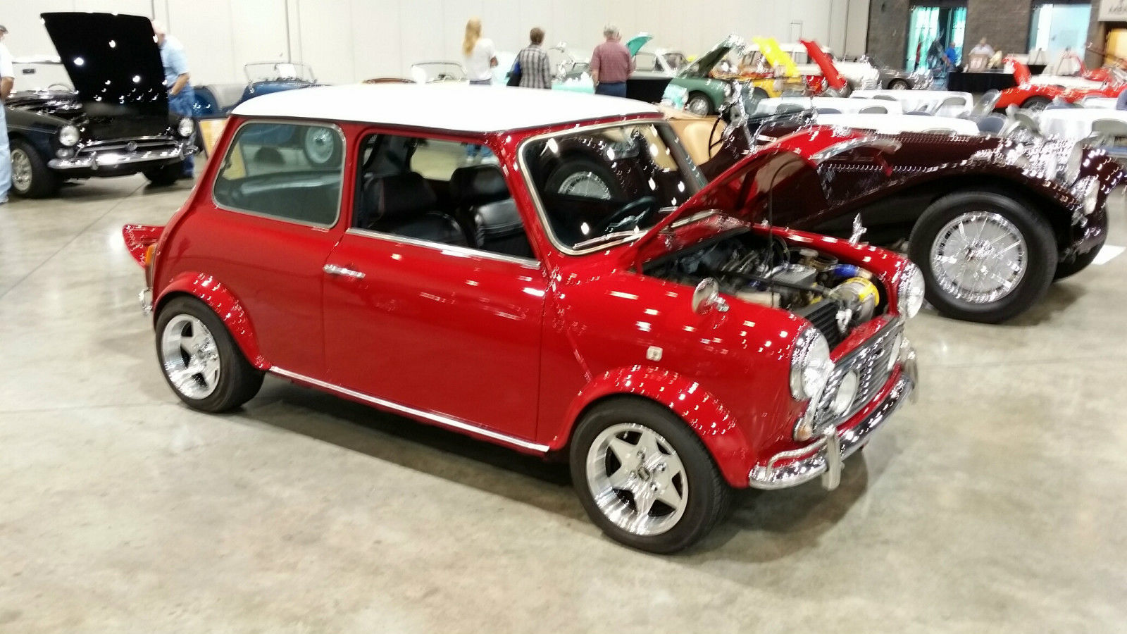 1972 classic mini cooper left hand drive with a c and twin carbs. Black Bedroom Furniture Sets. Home Design Ideas