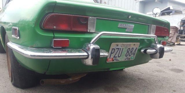 1972 Fiat Spider 850 Sport Hardtop
