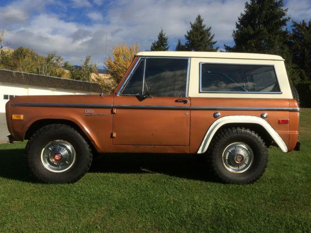 1972 ford bronco explorer sport 302 v8 4x4 original early