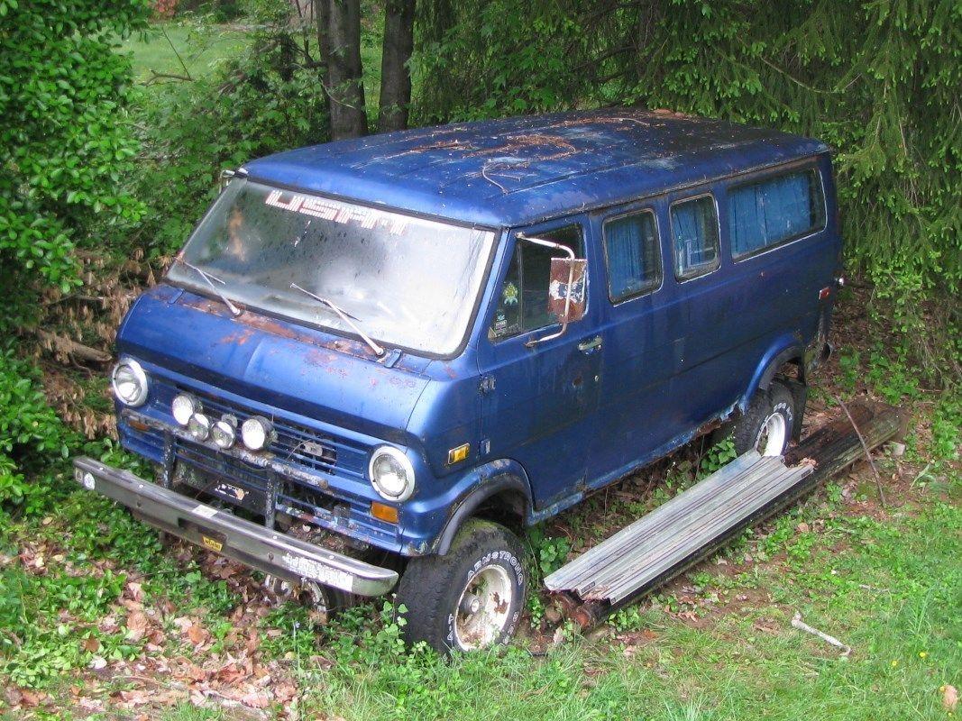 1972 Ford Club Wagon Van W 1976 F250 4x4 Under Carage Rebuilt 390 1970 Highboy 70k Miles