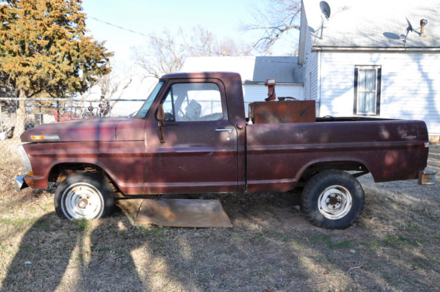Old Ford Truck Parts : Ford f wd parts truck