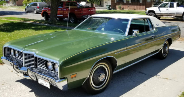 1972 ford galaxie 500 only 26 166 actual miles. Black Bedroom Furniture Sets. Home Design Ideas