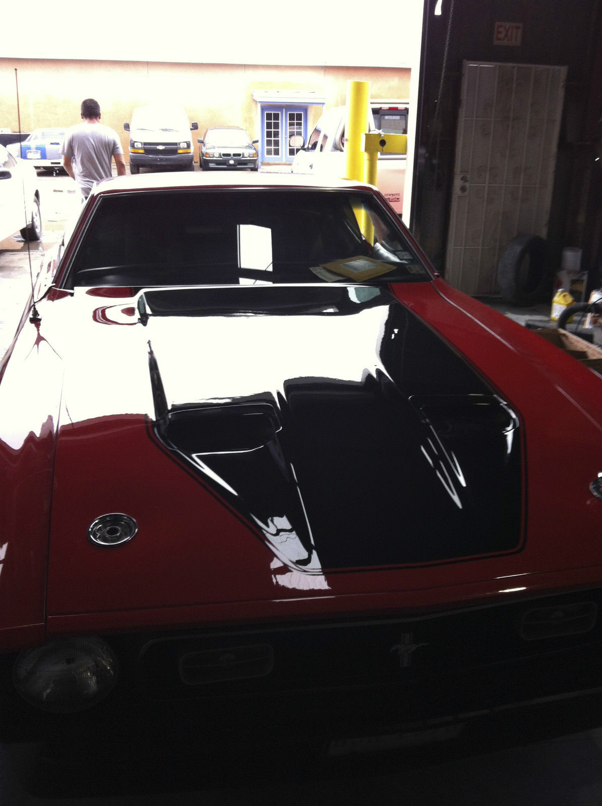 1972 ford mustang mach 1 351 c high performance completed restored. Black Bedroom Furniture Sets. Home Design Ideas