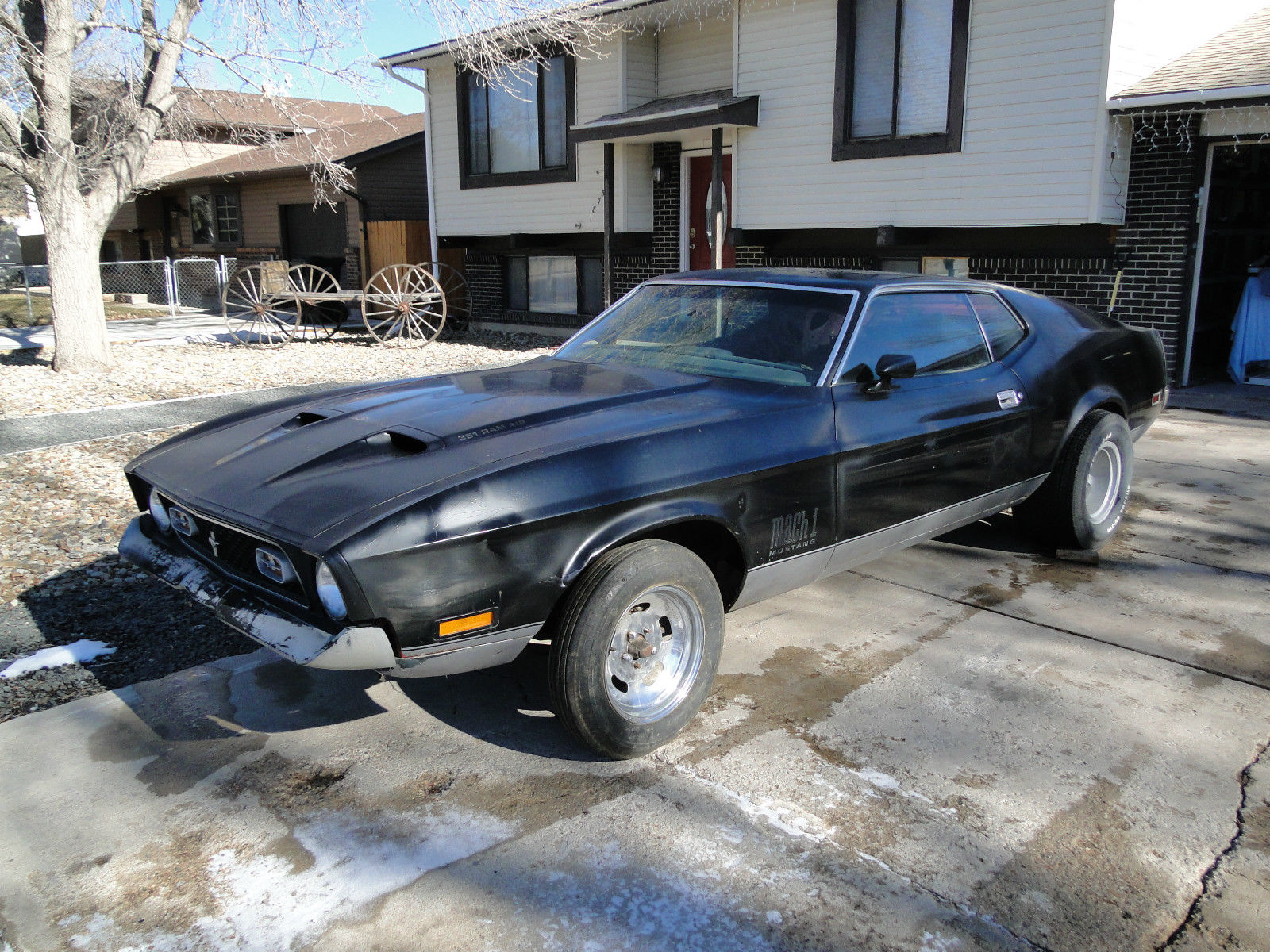 1972 Ford Mustang Mach 1 Q code 351 4v Sportsroof 71 73 project for