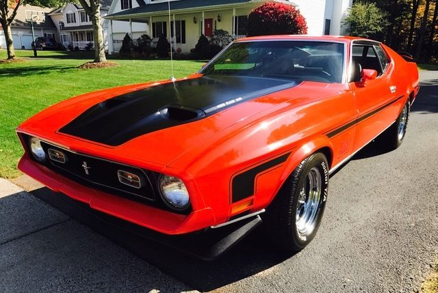 1972 Ford Mustang Mach 1 With 429 Cobra Jet In Like New Condition