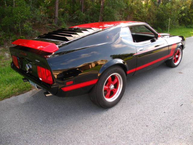 1972 ford mustang q code mach 1 restomod. Black Bedroom Furniture Sets. Home Design Ideas