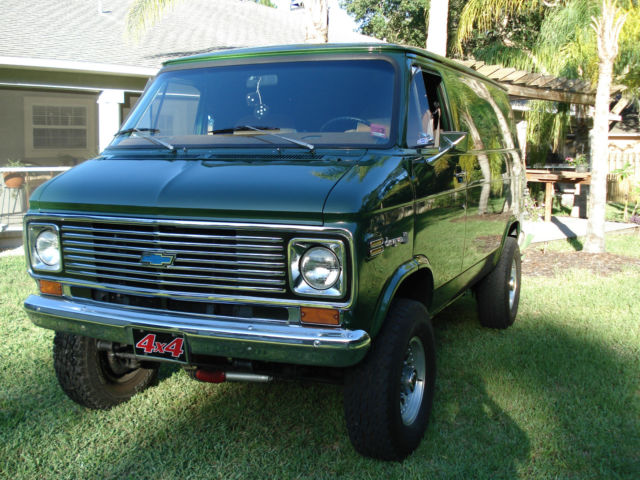 1972 g10 chevy van 4x4 g20 g30 shorty. Black Bedroom Furniture Sets. Home Design Ideas
