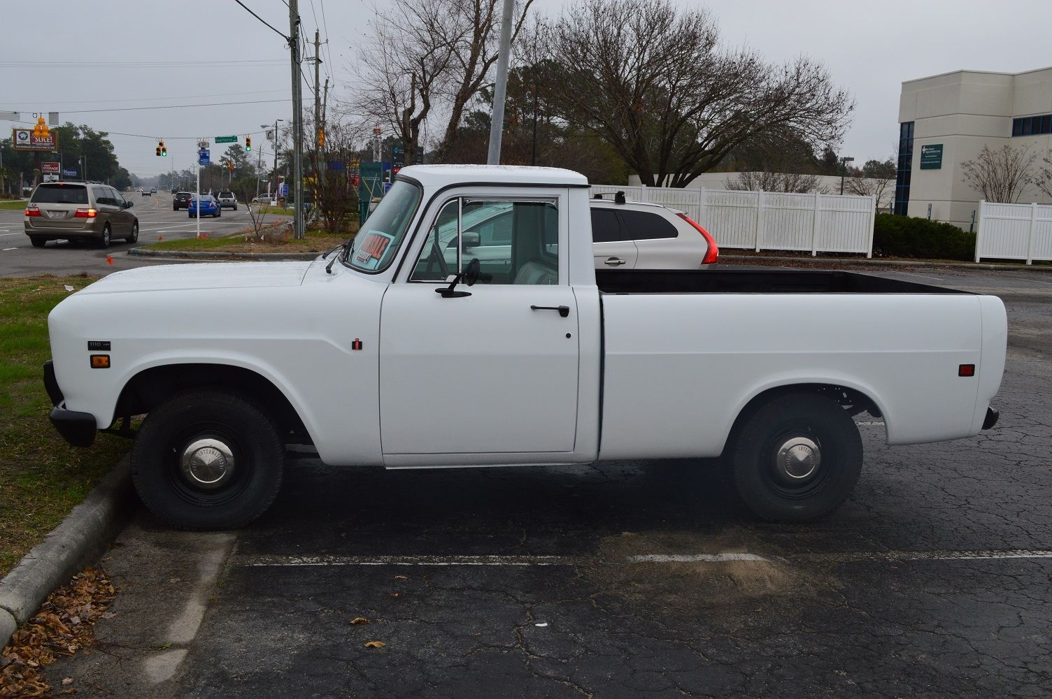 Rhino Lined Truck >> 1972 International Harvester 1110 2-door Pickup Truck, Very Realiable, 77kmiles