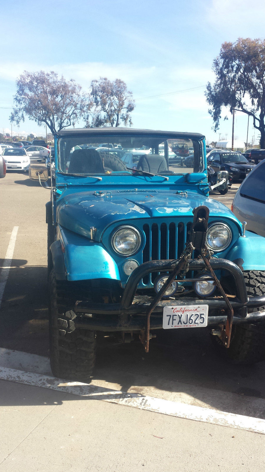 Fantastic 1972 Jeep Cj5 Base Sport Utility 2 Door 5 0L Wiring Cloud Peadfoxcilixyz