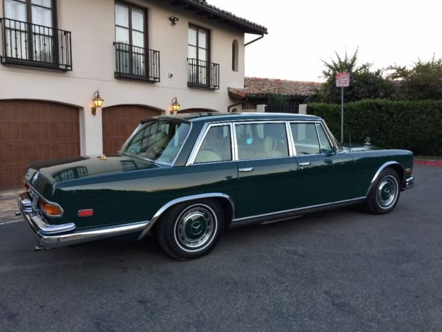 1972 mercedes benz 600 grosser extremely rare very for Beverly hills mercedes benz used cars